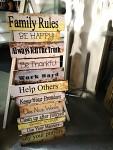 Obraz dřevo - pravidla rodiny