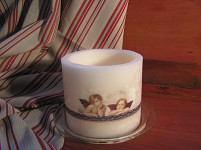 Vonná svíčka lux DW HOME - pivoňkový květ