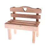 Dřevěná lavička - natur
