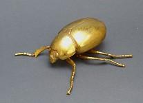 Kovový zlatý brouk - 100 mm