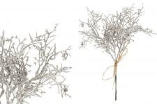 Růže pěnová zasněžená zápich - starorůžová - 2ks