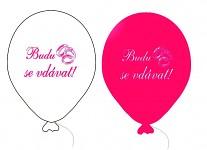 Balonek - budu se vdávat růžovo-bílý mix