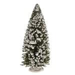 Drátěný umělý stromeček zasněžený - 14,5 cm