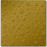Ubrousky zimní - vločky - zlaté