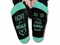 Humorné ponožky - masíruj