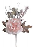 Růže rozvitá frost -  pudrová