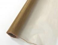Organza šerpa - bronzová