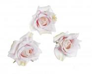 Hlavičky poupat růží - mini rozvité- růžové