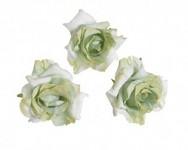 Hlavičky poupat růží - mini rozvité- karamelové