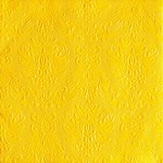 Ubrousky Elegance - sytě žluté - 15ks