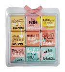 Čokoládové LOVE puzzle - texty - 9 ks