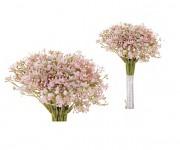 Gypsophilla kytice - růžová