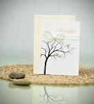 Svatební blahopřání strom s ptáčky
