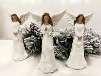 Anděl bílý - 9 cm