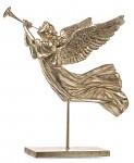 Andělka s ptáčkem - růžová - závěs