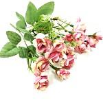Trsové růžičky mini - sv. růžové
