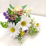 Maceška se 2 květy - fialová