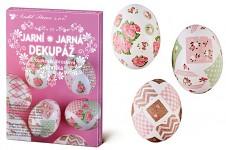 Velikonoční zdobení vajíček - jarní dekupáž