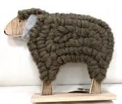Ovečka vlněná velká - šedá
