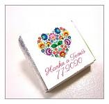 Čokoládka svatební mini - folklor
