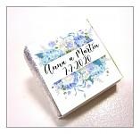 Čokoládka svatební mini - hortenzie