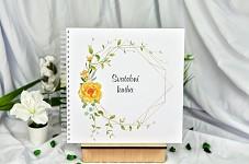 Svatební kniha hostů FO1307k