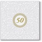 Ubrousky - svatební 50.výročí - zlatá svatba