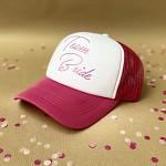 Kšiltovka růžovo-bílá -  Team bride