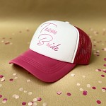 Kšiltovka růžovo-bílá - Tým nevěsty