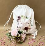 Vak pro nevěstu bílý - růže
