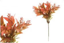 Zápich tráva zeleno- červená