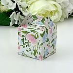 Krabička dárková s ouškem malá - mátovo-růžová