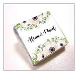 Čokoládka svatební mini - anemonky Thank you