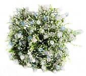 Gypsophilla kytice - modrobílá