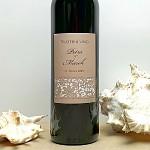 Etiketa na svatební víno 0,7l - krajka