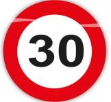 Konfety dopravní značky- narozeniny - 30