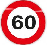 Konfety dopravní značky- narozeniny - 60