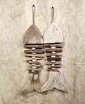 Ryba klacíky - 70 cm - sv.hnědá