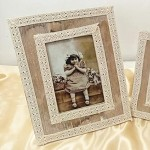 Fotorámeček dřevěný vintage - 19,5x24,5 cm