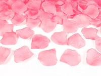 Plátky růží - korálové - 100ks
