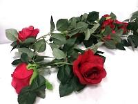 Girlanda růže- červená - 180cm