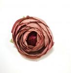 Hlavička mini ranunculus - sv.růžová - 1ks