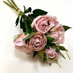 Kytice pivoňkových růží - starorůžová