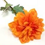 Jiřina stvol - oranžová - 58 cm