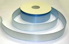 Taftová stuha - sv.modrá - 25 mm/ 1 m