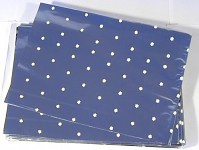 Celofánový sáček - stříbrno-bílý s kytičkami - 40 x 35 cm