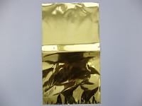 Celofánový sáček - zeleno-bílý s kytičkami - 30 x 25 cm