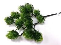Podzimní větvička 80cm - zelené listy mix
