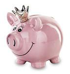 Dřevěná pokladnička - kočička- černá