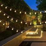 Světelný řetěz - mini žárovky - teplá bílá - 30 m - půjčovna